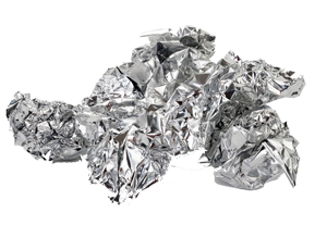 crumpled foil- Ozark Rivers Solid Waste Management District